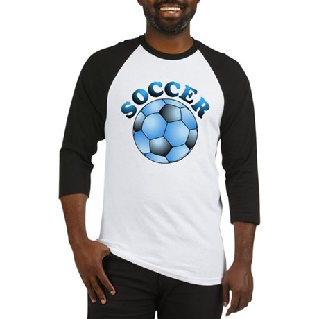 Blue Soccer Baseball Jersey