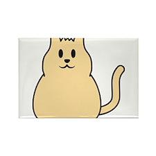 cute_cat Rectangle Magnet