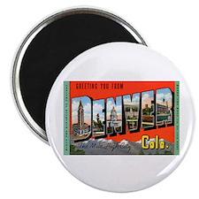 Denver Colorado Greetings Magnet
