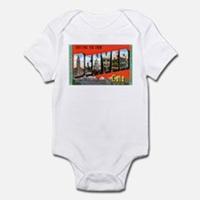 Denver Colorado Greetings Infant Bodysuit