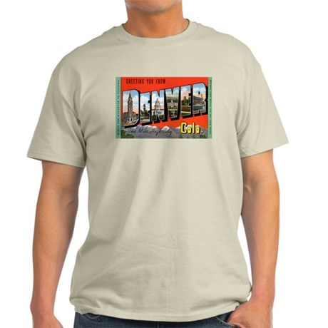 Denver Colorado Greetings Ash Grey T-Shirt