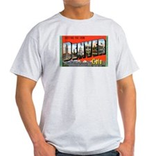 Denver Colorado Greetings (Front) Ash Grey T-Shirt