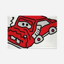 auto_accident Rectangle Magnet