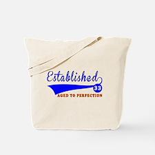 33 Birthday Designs Tote Bag