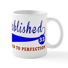 33 Birthday Designs Mug