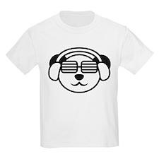 music_panda_head T-Shirt