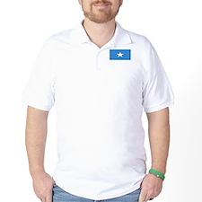 Somalia Somali Blank Flag T-Shirt