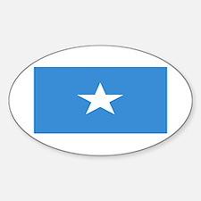 Somalia Somali Blank Flag Oval Decal