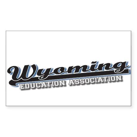 Baseball - Wyoming Education Association Sticker
