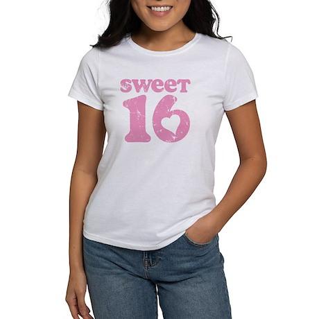 Retro Sweet 16 Birthday Women's T-Shirt