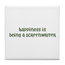 Happiness is being a SCREENWR Tile Coaster
