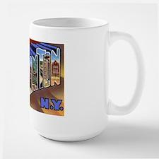Binghamton New York Greetings Large Mug
