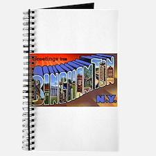 Binghamton New York Greetings Journal