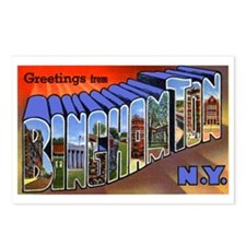 Binghamton New York Greetings Postcards (Package o