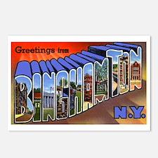 Binghamton New York Greetings Postcards (Package o