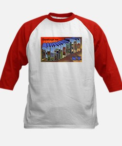Binghamton New York Greetings (Front) Tee
