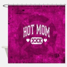 Hot Mom Shower Curtain