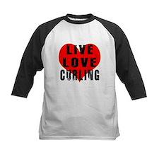 Live Love Curling Tee