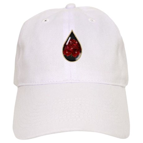 Rose Teardrop Cap