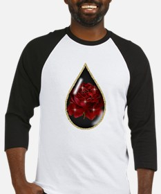 Rose Teardrop Baseball Jersey