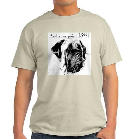 Charcoal 16 Ash Grey T-Shirt