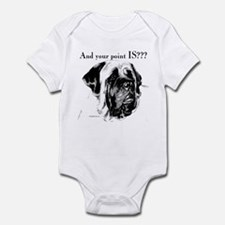 Charcoal 16 Infant Bodysuit