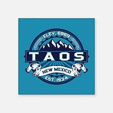 "Taos Ice Square Sticker 3"" x 3"""