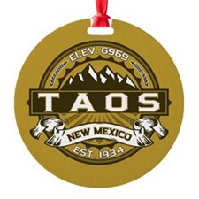 Taos Gold Ornament