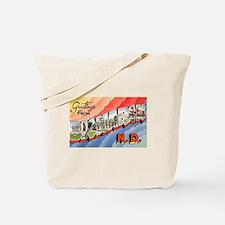 Bismarck North Dakota Greetings Tote Bag