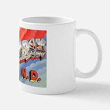 Bismarck North Dakota Greetings Mug