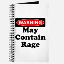 Warning May Contain Rage Journal