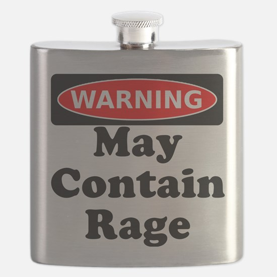 Warning May Contain Rage Flask