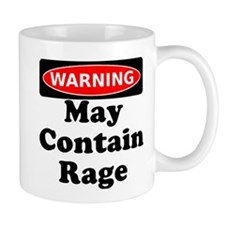 Warning May Contain Rage Mug