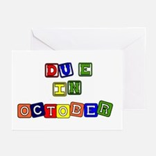 Due in October Greeting Cards (Pk of 10)