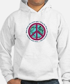Christian Peace Sign Hoodie