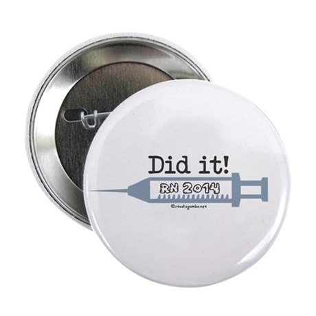 """I Did it! RN 2014 2.25"""" Button (100 pack)"""