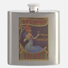 Absinthe Poster Vintage French Ad Flask