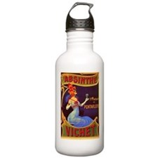 Absinthe Poster Vintage French Ad Water Bottle