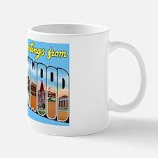 Brownwood Texas Greetings Mug
