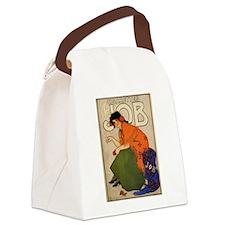 Gypsy Woman French Cigarette Ad Canvas Lunch Bag
