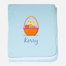 Easter Basket Kerry baby blanket