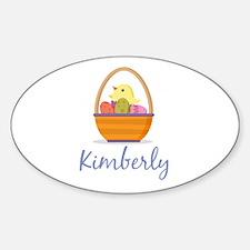 Easter Basket Kimberly Decal