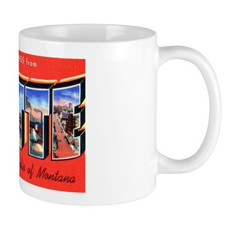 Butte Montana Greetings Mug