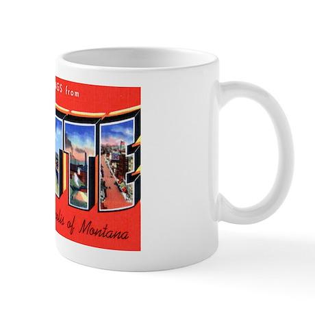 Butte Montana Greetings Mug