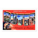 Montana city Postcards