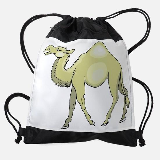Camel Drawstring Bag