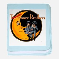 The Original Booze Brothers baby blanket