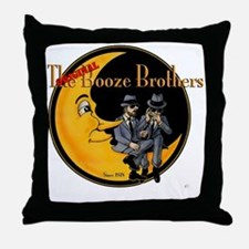 The Original Booze Brothers Throw Pillow