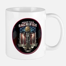 01026 HONOR THEIR SACRIFICE Mug