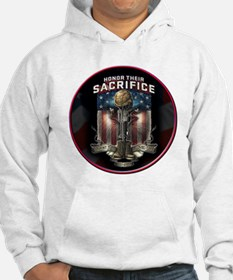 01026 HONOR THEIR SACRIFICE Hoodie